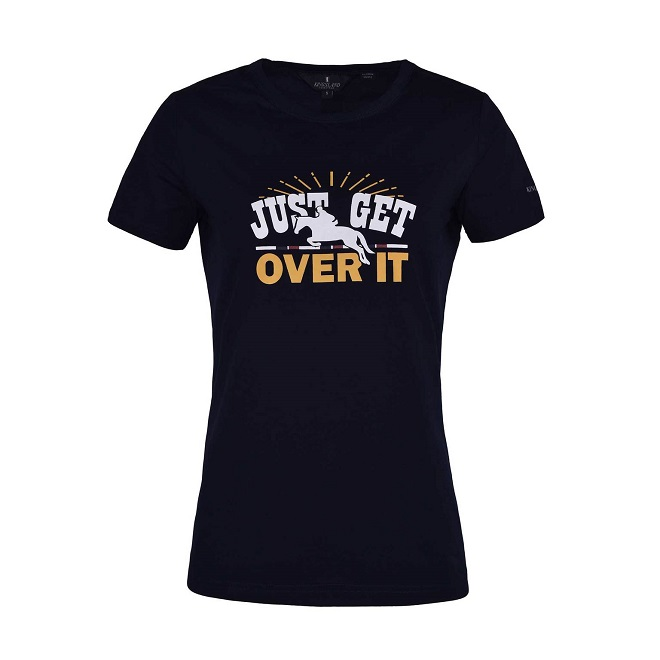 "T-SHIRT ""JUST GET OVER IT"" KINGSLAND"